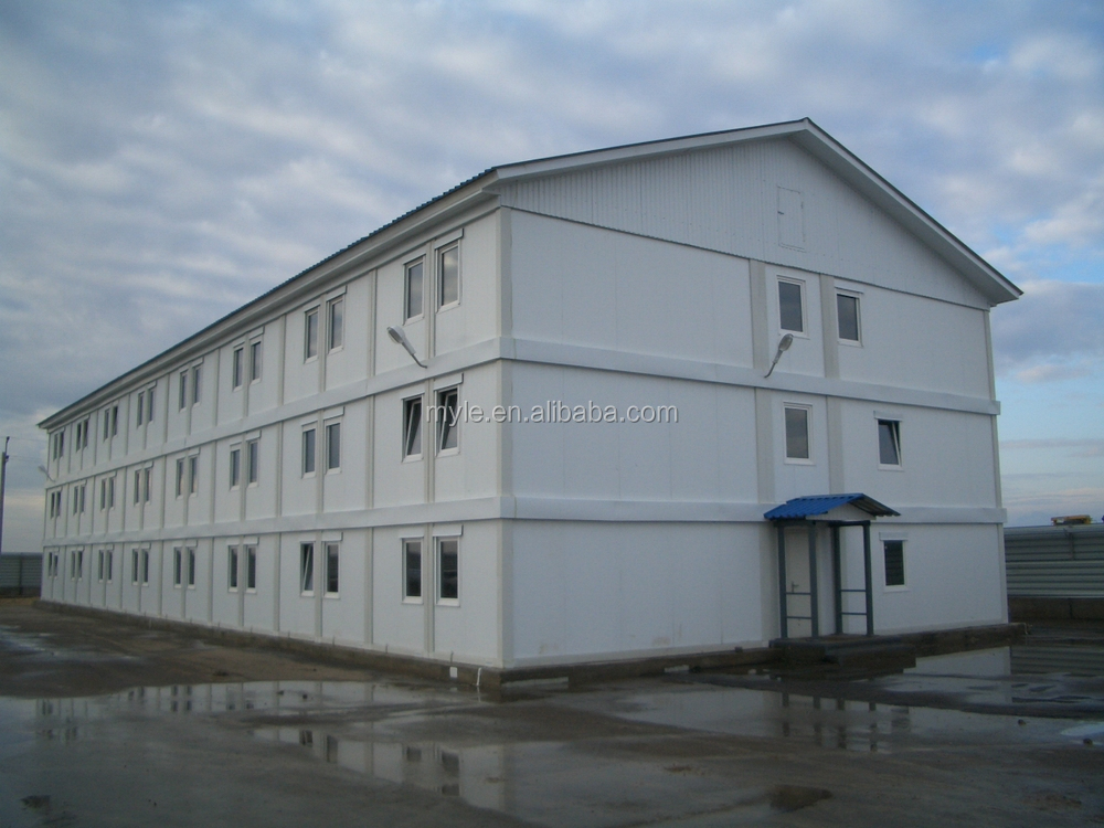 2 story container living house for student dormitory for Villa container