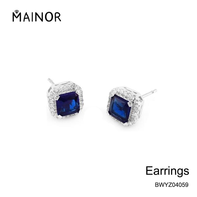 Factory cheap price Korea style handmade crystal stud earrings