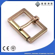 fashion metal leatheer buckle for high end handbag hardware