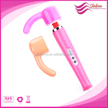 Silicone sex av magic wand Sex toy,lady sexy photo english wand attachment