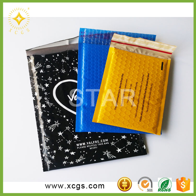 Customized Waterproof Poly Bubble Mailer/6x10 Poly Mailing Bags