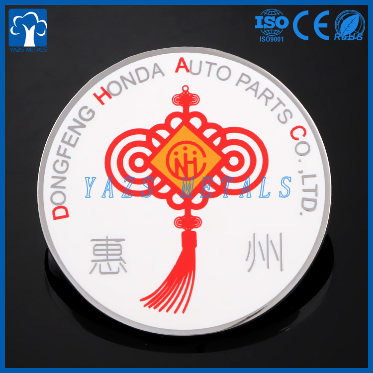 Low price stainless steel material cheap craft sticker and epoxy custom metal lapel pins