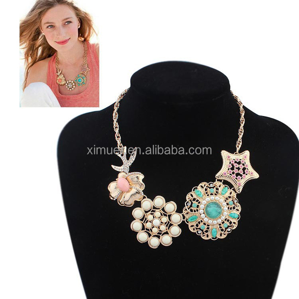 Wholesale women trendy necklace fashion necklace