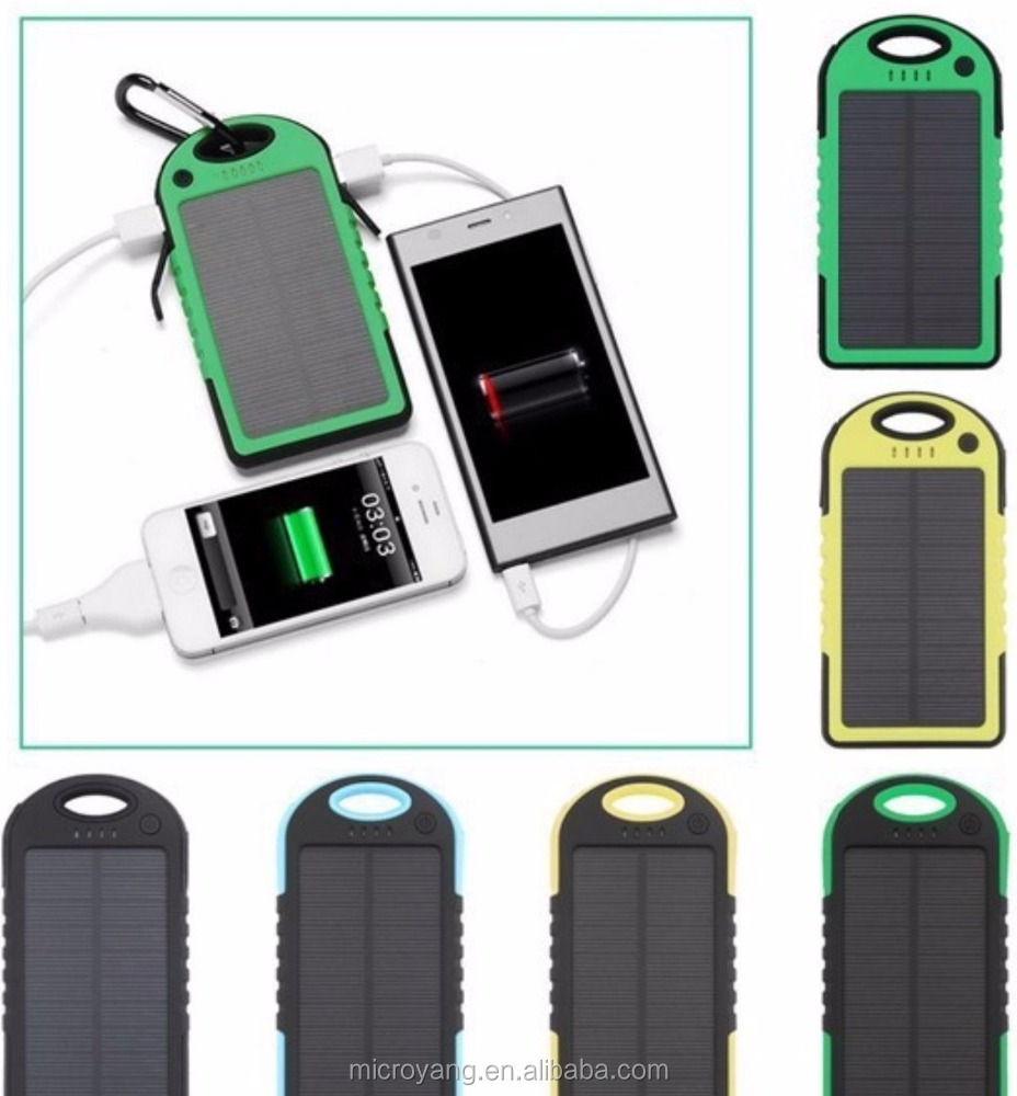 Solar Portable External Mobile Battery Universal Power Bank Traveller Charger for Xiaomi