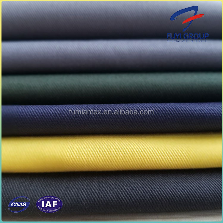 108X58 195Gsm Workwear 65 Polyester 35 Cotton Fabric,TC Twill Waterproof Fabric