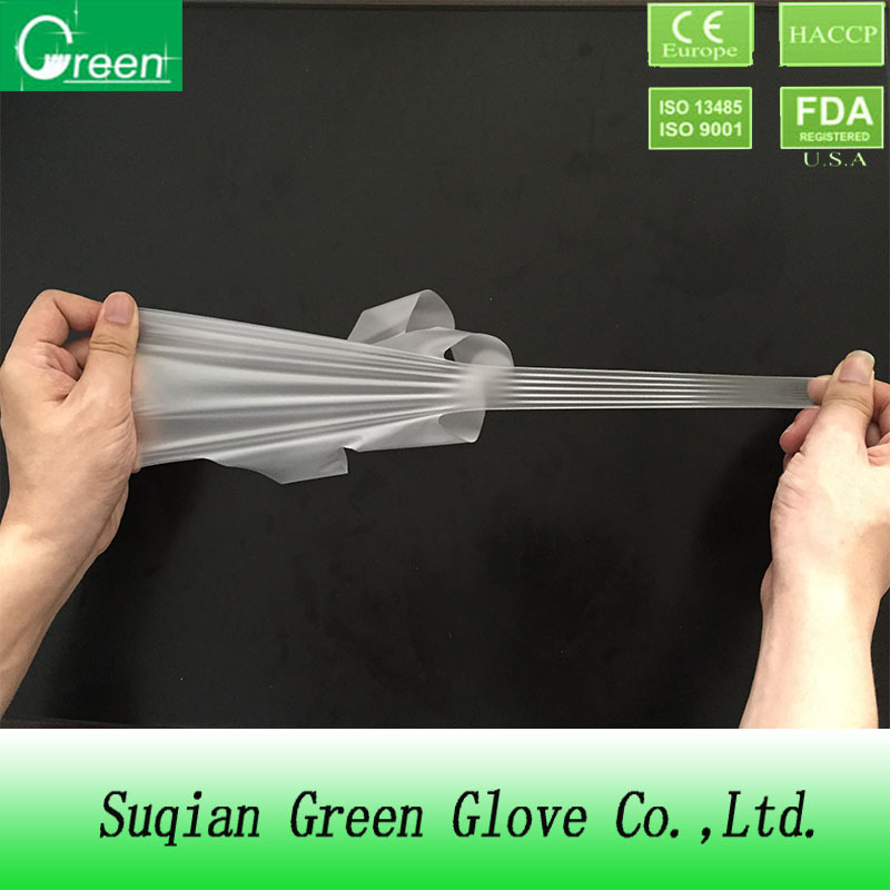 Disposable TPE medical glove