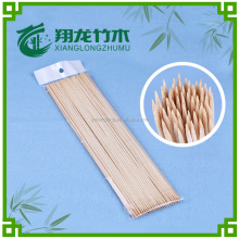 Nature color high quality bbq bamboo skewer /stick direct from factory