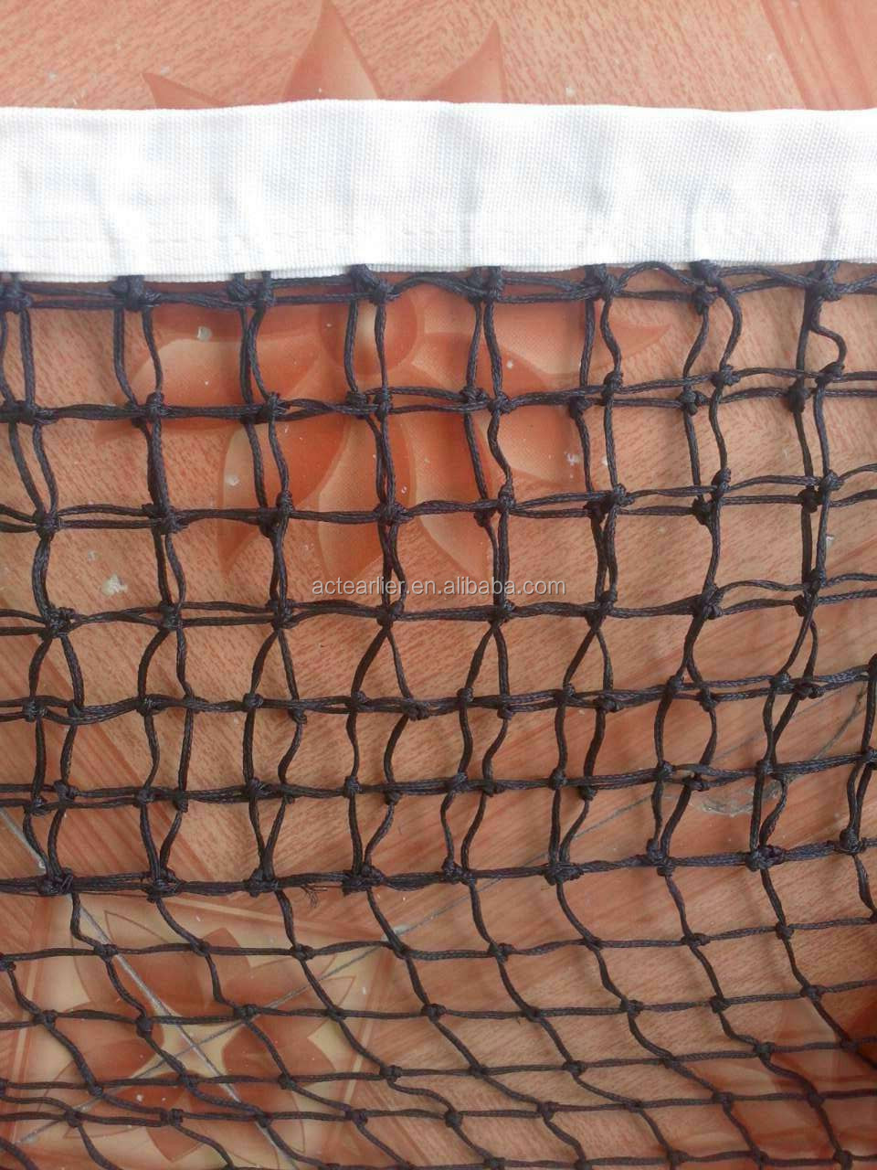 PE football goal polyester golf range polyethene volleyball nylon fishing netting