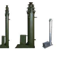 Sectional Electro screw mechanical telescopic mast
