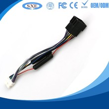 Custom 2.54 pitch wire cables jst xh connector with lock & 28p idc cale for pcb