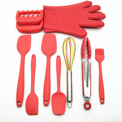 Heat Resistant Kitchen Tools best selling Silicone cooking utensil set
