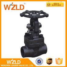WZLD Cast Steel Resilient Soft Seal Water Air Steam Medium Flange Gate Valve With Factory Price