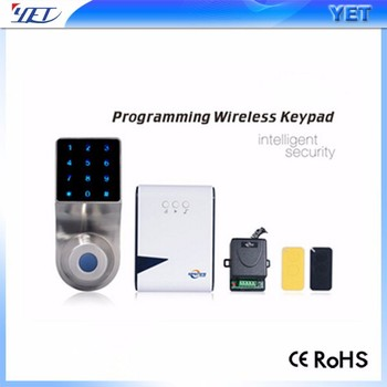 Popular YET Wireless Keyboard Security Doorbell Keypad