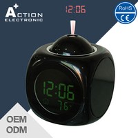 Funny Digital Talking Alarm Timer Clock