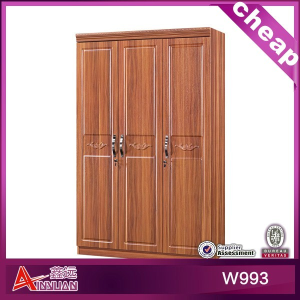High Quality Wooden Sliding Door Wardrobe Armoire