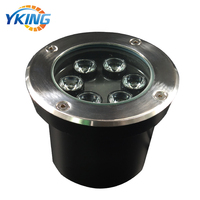 Outdoor landscape use IP67 waterproof underground 6W LED dimmable garden light