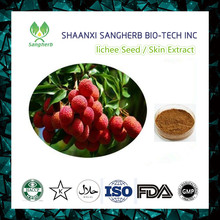 Food grade semen litchi extract powder lychee seed extract 40% 50% 70% Polyphenol