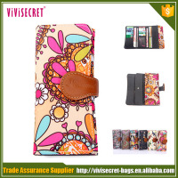 2015 China Supplier Light Weight Nylon Card Wallet Japanese Style Wallet