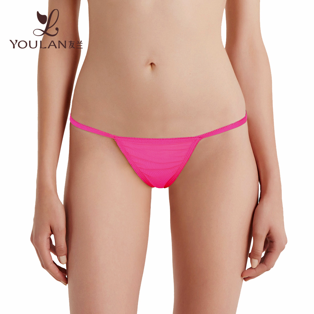 2016 Latest Fashionable Pink Sexy Panty C String Thong Pictures