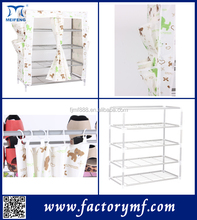 designer furniture colorful tall shoe cabinet