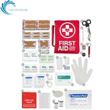 200-Piece FDA and CE approved survival kit home office adventure hiking camping medication travel bag