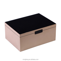 Customized wooden makeup gift packaging cosmetics box