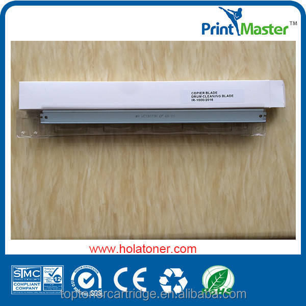 Drum cleaning blade for canon ir2016 ir2020 with good quality for America market