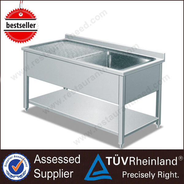 2016 China Supplier Kitchen Outdoor Stainless Steel Sink Table