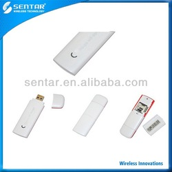 New HSUPA USB 2.0 Modem SIM card Adapter Wireless 3G WiFi Network Dongle White Color OEM