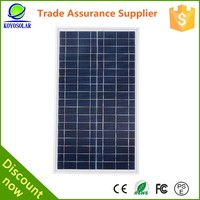 home power system 70 watt micro USB Poly solar module panel solar