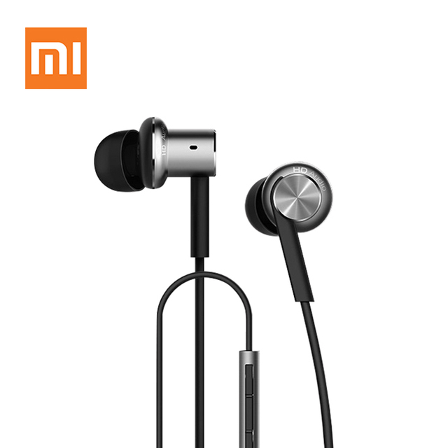 Original Xiaomi Hybrid Earphone with Mic Remote Headset for Xiaomi Redmi Red Mi Mobile Phone In-Ear Computer MP3 PC