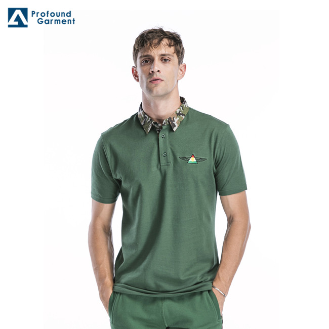 Ready Made China Wholesale Embroidery Logo Mens Polo Shirt