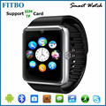 Top MTK6260 SIM TF pedometer wrist watch phone with tv for MEIZU MX4 Pro