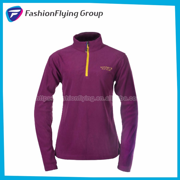 FL2008A New Design Outdoor One Piece Fleece Jacket