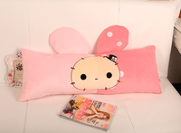 Custom lovely soft plush pillow toys used in home/ office in China shenzhen OEM