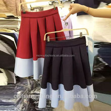 monroo Ladies new korean style skirt lady pictures of a-line skirt