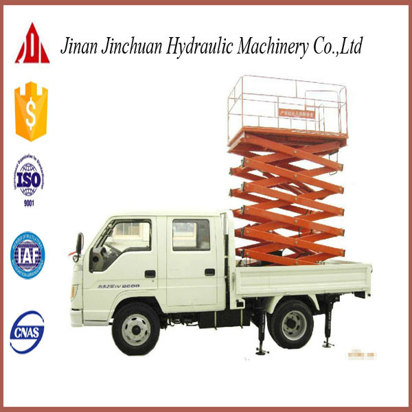 reliable vehicle mounted scissor lifter LHSJCC0.3-10