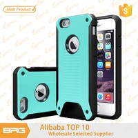 BRG 2015 New Coming Product PC TPU Combine Bumper Case For iPhone 6 4,7 inch