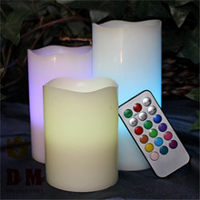 Event & Party Supplies popular remote control changing color led candle