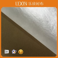 100% PVA nonwoven interlining/hot water soluble fabric/water dissolving