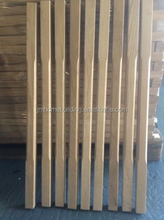 high quality stair balusters/spindles/balustrade/hardwood stair parts