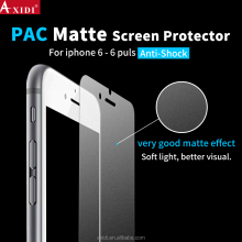 Premium anti scratch anti glare PAC screen protector for iPhone 6/6s/6 Plus matte film