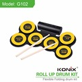 Hot Sale Silicone Drum Set MINI Electronic Drum Set Acoustic Drum Set for Kids