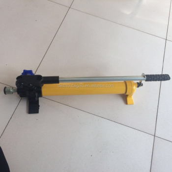 High quality hand manual hydraulic pump , manual pump for emergency