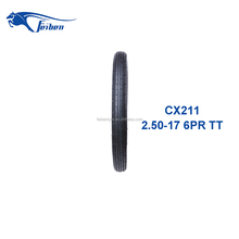 FEIBEN BRAND TOP QUALITY HOT SALES FRONT TYRE MOTORCYCLE TYRE 2.50-17