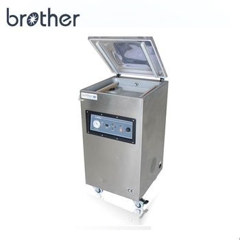 Wenzhou Brother industrial single chamber nitrogen flushing food vacuum sealing packaging machine for clothes