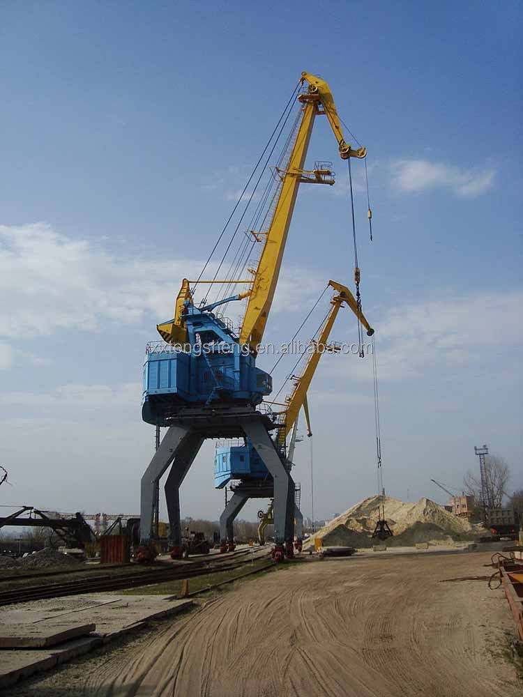 20t Single jib portal crane used in harbour for sale