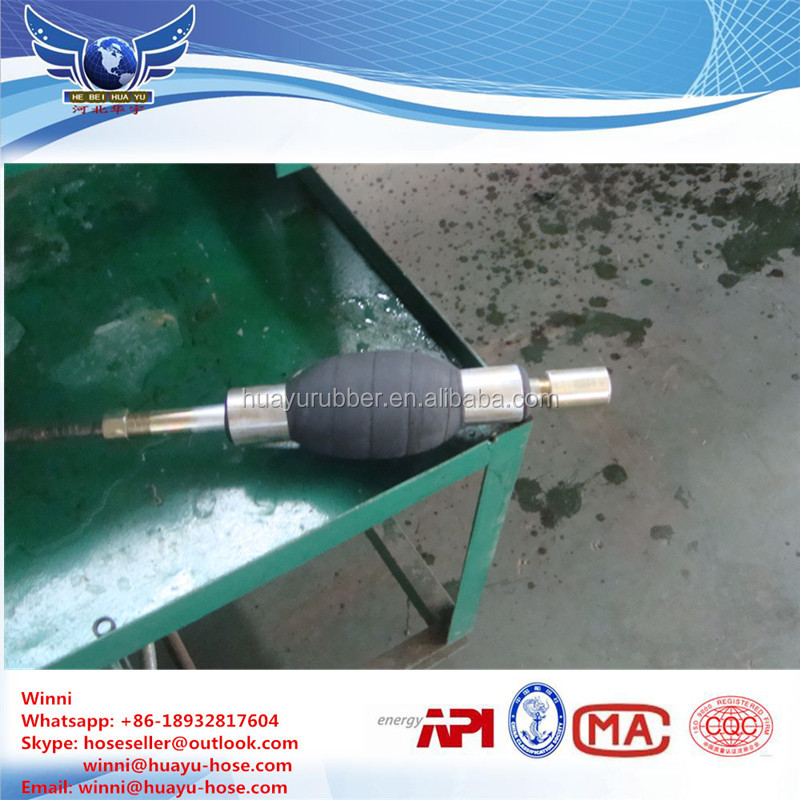 dual or single inflatable packer grout injection packer