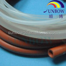 250C FDA silicone rubber tube used in electric insulation