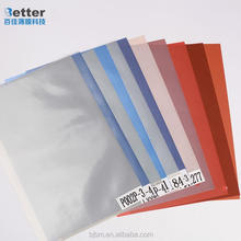 Coated Overlay Film White/Silver/Golden Digital Printing Inkjet PVC Sheet Plastic Film For Plastic Card